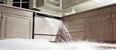 What Types Of Water Damage Can Occur also  on domestic appliance seepage
