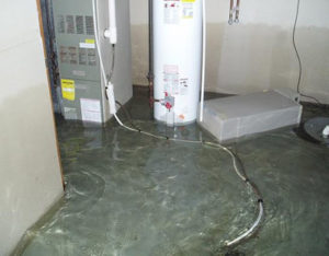 Basement Water Damage Sturtevant WI